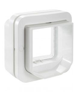 Sure Petcare - DualScan Chatière à puce électronique, blanc