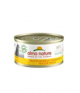 Almo Nature HFC - Filet de poulet - Boîte de 70g