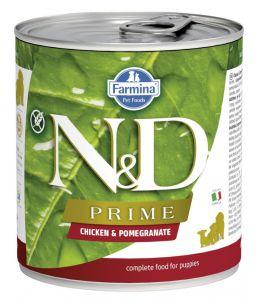 Farmina N&D Prime - Canine Puppy Poulet & Grenade - Boîte 285 g