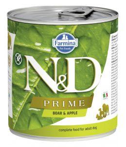 Farmina N&D Prime - Canine Adult Sanglier & Pomme - Boîte 285 g