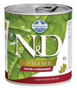 Farmina N&D Prime - Canine Adult Poulet & Grenade - Boîte 285 g