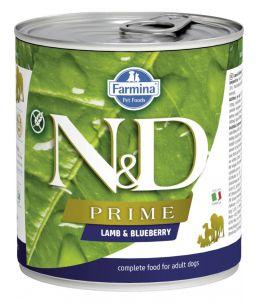 Farmina N&D Prime - Canine Adult Agneau & Myrtille - Boîte 285 g