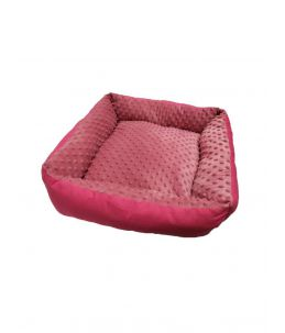 Couffin rectangulaire - grand - rose