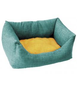 Cani Amici - Corbeille dual azur/jaune