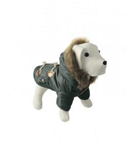 """Manteau, kaki """"Coat"""" avec capuchon"""