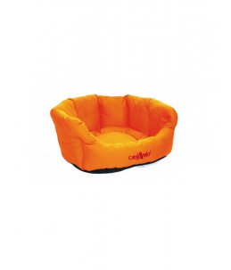 "Cani Amici - Panier ""Gaia"" - orange"