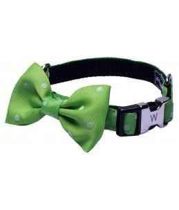 Collier nylon nœud - Vert