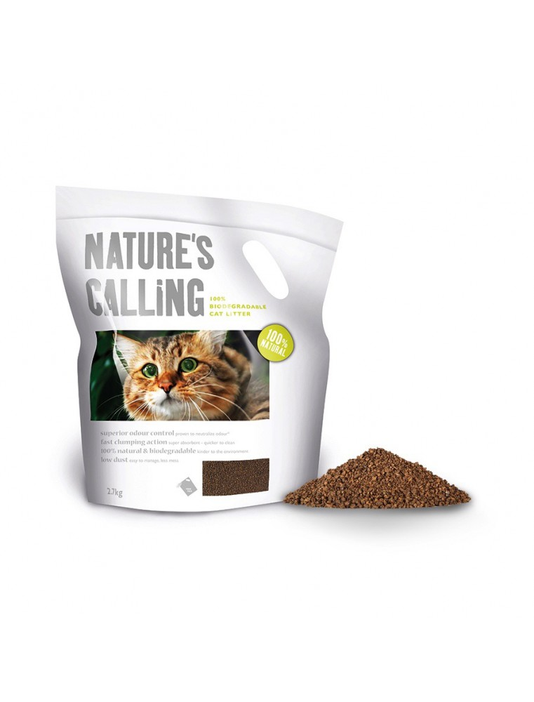 Nature's Calling Cat Litter