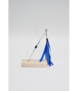 TeaZ'r Mini - White - Ribbon : Blue & White with heart