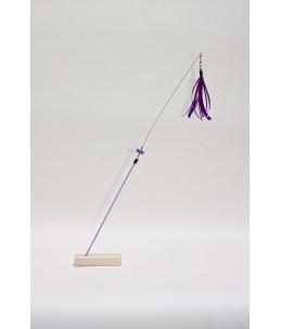 TeaZ'r Medium - Soft Purple - Ribbon : Purple with dot