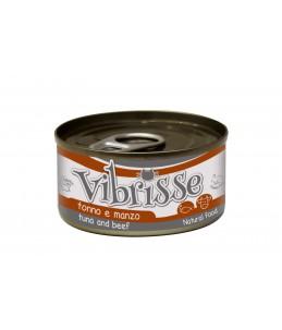 Vibrisse Chat en sauce - Thon avec bœuf